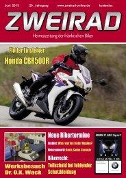 Honda CBR500R - ZWEIRAD-online
