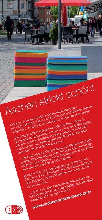 Aachen strickt schön! - Compagnie Irene K
