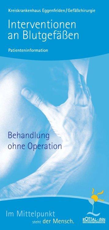 Interventionen an Blutgefäßen - Rottal-Inn-Kliniken