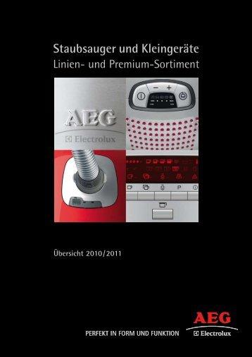 Staubsauger und Kleingeräte - AEG