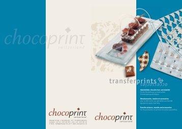 switzerland switzerland - chocoprint