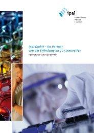 ipal GmbH – Ihr Partner von der Erfindung bis zur Innovation