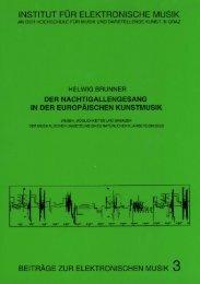 BEM 3 - Institut für Elektronische Musik und Akustik - IEM