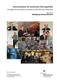 Kommunikation für technische Führungskräfte Wolfgang ... - Zu dokeo