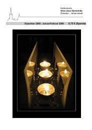 Dezember 2008 - Herz-Jesu-Kirche