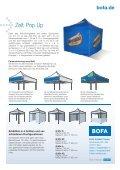 Bedrucktes Zelt Pop-Up Ein zusammenklappbarer Unter- stand in ... - Seite 2