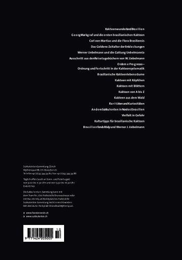 Download, 4,4 MB - Förderverein der Sukkulenten-Sammlung Zürich