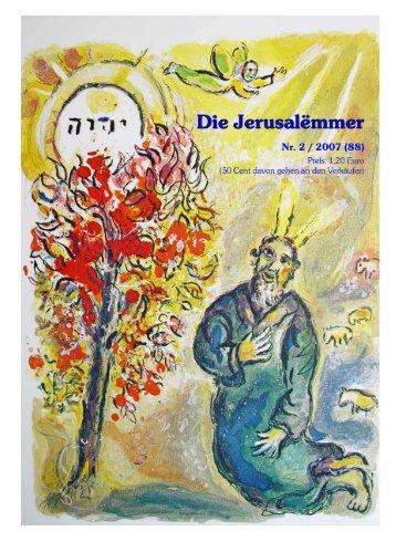 Die Jerusalëmmer - Cafe Jerusalem