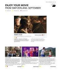 enjoy your movie - Swiss