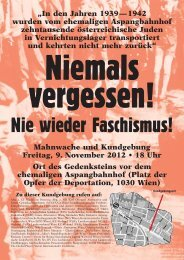 Flugblatt ansehen (2012, PDF) - Initiative Aspangbahnhof
