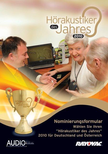 Jahres - Hörakustiker des Jahres 2013