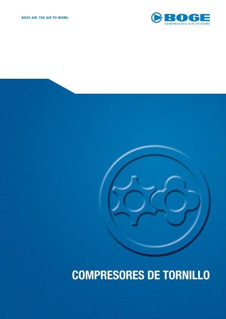 COMPRESORES DE TORNILLO - Boge Kompressoren