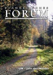 Forum Nr. 4 - Evangelische Kirche im Fürstentum Liechtenstein