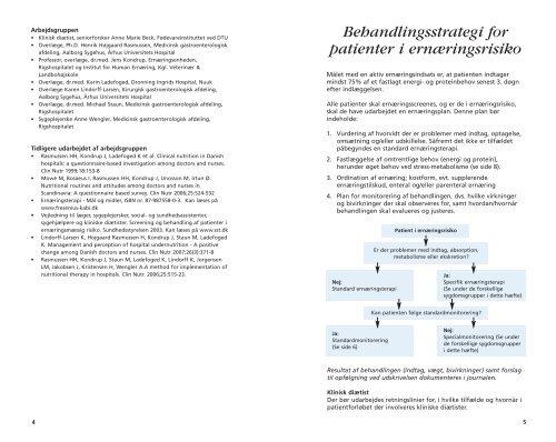 Praktisk ernæringsterapi til udvalgte sygdomsgrupper i ...