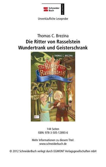 Die Ritter von Rasselstein Wundertrank und Geisterschrank