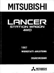 Lancer - 4WD - 1987 Werkstatt-Anleitung Ergänzungsband.pdf
