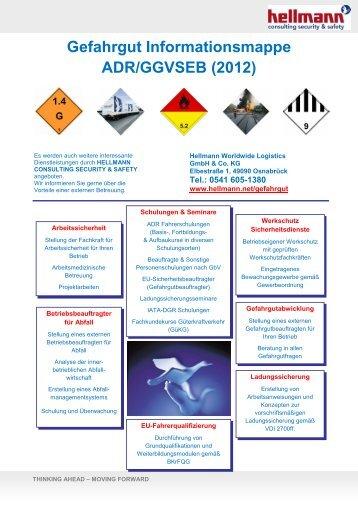 Gefahrgut Informationsmappe ADR/GGVSEB - Hellmann Worldwide ...