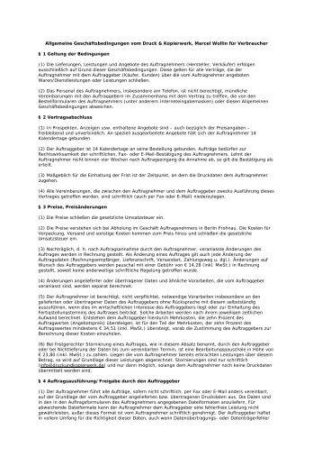 als PDF runterladen - Druck & Kopierwerk Marcel Wollin