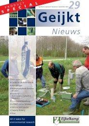 Nieuws - Eijkelkamp Agrisearch Equipment