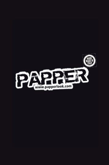 Papper – hand made in Italy