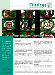 2 Dialog Hombrechtikon 12/2010 - Reformierte Kirchgemeinde ...