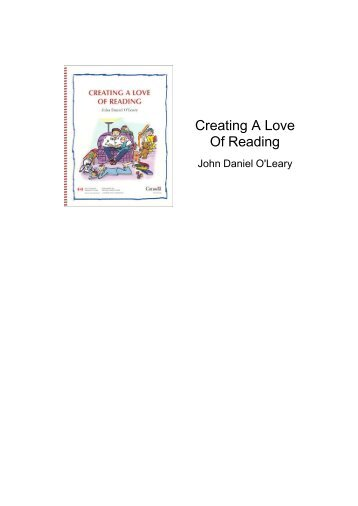 Creating A Love Of Reading - National Adult Literacy Database