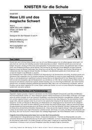 Hexe Lilli und das magische Schwert - ARENA Verlag