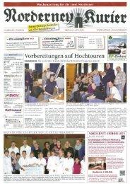 Norderney Kurier 25.01.2013 - Chronik der Insel Norderney