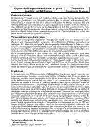 2004 Öko Delphinium Düngung - LVG Heidelberg