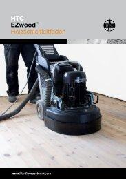 HTC EZwood™ Holzschleifleitfaden - Htc-floorsystems.com