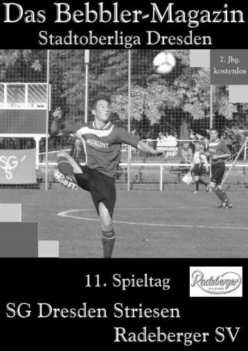 Das Bebbler-Magazin - 11. Spieltag