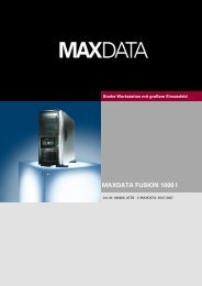 MAXDATA FUSION 1000 I