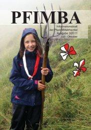 Ausgabe 2011-3 - Pfimba.ch