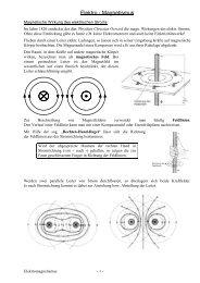 Elektro - Magnetismus