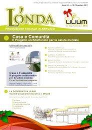 L'Onda n.12 - Coop LILIUM: Casa e Comunità