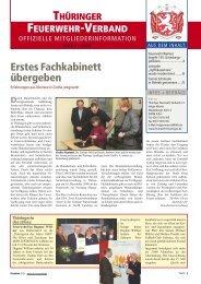 Mitgliederinfo 03/2009 - Thüringer Feuerwehrverband