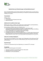 Informationen zur Förderung von Mietwohnungen und ... - Kreis Kleve
