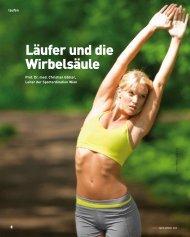 Läufer und die Wirbelsäule - Sportordination