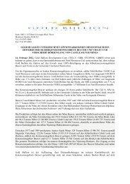 gold bullion unterzeichnet optionsabkommen hinsichtlich des ...