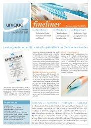 Ausgabe 04/05 - unique Technische Dokumentation und ...