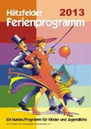 Ferienprogramm 2013 - Schuhgeschäft Mechler Heidingsfeld