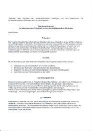 DV_Telearbeit - Personalrat der Universitätsmedizin - Georg-August ...