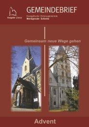 Gemeindebrief 01/12 - Christusgemeinde-wernigerode.de