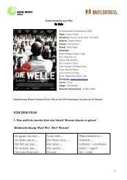 Die Welle - Kongress Rindern Mai 2010 - Vom Nachbarn lernen