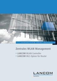 WLC-Handbuch - LANCOM Systems