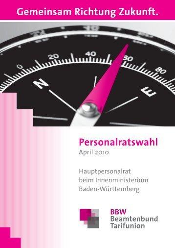 Hauptpersonalrat beim Innenministerium Baden-Württemberg