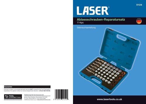 Ablassschrauben-Reparatursatz - Laser Tools