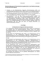 (ABV) und Lehramtsbezogene Berufswissenschaft - Freie ...
