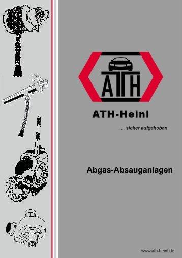 Katalog Abgas-Absauganlagen GH