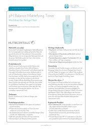 pH Balance Mattefying Toner - Nu Skin